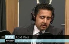 Abid Raja: islamsk terror har ingenting med islam å gjøre. Her i Dagsnytt 18, 16. desember 2014.