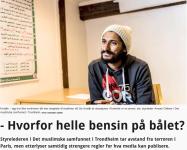 """Styreleder Ameen Chilwan i Det muslimske samfunnet i Trondheim fremstår som en fiende av ytringsfriheten når han vil at pressen skal vedta """"etiske og moralske verdier slik at ingen føler seg fornærmet."""" Faksimile fra Adresseavisens foto: Richard Sagen"""