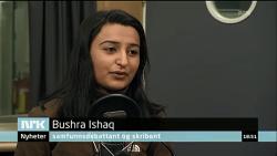 Bushra Ishaq kommer med absurde påstander om at Pegida vil utrydde muslimer, og hun får ingen kritiske motspørsmål.
