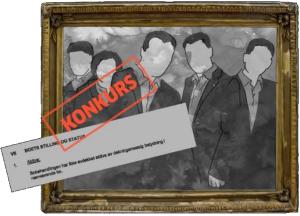 Konkurs i Norge, kakser i Kosovo, en realistisk reportasje om hvitvasking av skattevindel i Kosovo. Faksimile: Aftenposten.